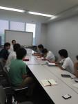 久留米市情報政策課5374アプリについて訪問会